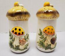 Vintage Merry Mushroom Sears Roebuck Salt And Pepper Shakers
