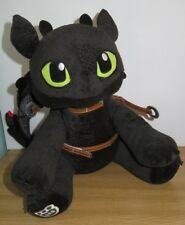 Build a Bear Dragons How to Train Your Dragon Toothless Plush & Wings & Saddle