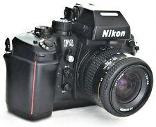 Nikon F4 Film Camera, DP-20 Finder + AF Nikkor 35-70mm f/3.3-4.5 Lens Excellent