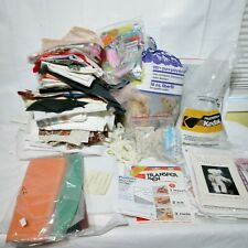 Teddy Bear Making Supplies Lot Fabric For Clothes And More!