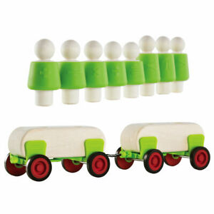 Guidecraft Block Science People and Cars Set
