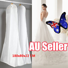 Extra Large Wedding Dress Bridal Gown Garment Breathable Cover Storage Bag BK