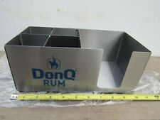 Don Q Aged Puerto Rican Rum Bar / Table Condiment SS Holder