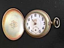 19th CENTURY CHINESE CHINA BOVET FLEURIER 10 JEWELS ANTIQUE POCKET WATCH
