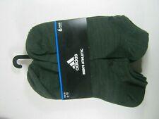Adidas Athletic No-Show Socks 6 Pairs Men's (6-12)