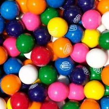 "Dubble Bubble ASSORTED Gumballs Bulk 850 pcs 1"" 24mm Approximately 15 Pounds"