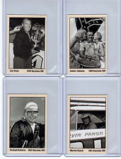 Lot of 4 Daytona 500 Winners NASCAR Petty/Junior Johnson/Fireball Roberts/Panch