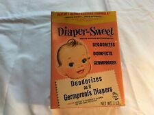 Vintage Diaper-Sweet Delux Soaking And Washing Aid Unopened Box; 1 Lb.