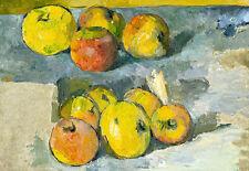 Apples by Paul Cezanne A2 High Quality Art Print