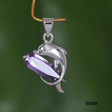 Silver Plated Amethyst Fine Necklaces & Pendants
