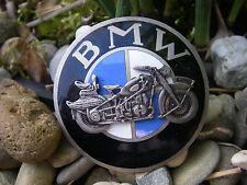 vintage BMW MOTORRAD R5 R23 R61 R71 R75 roundel enamel brooch Badge