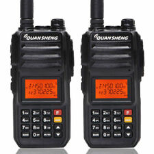2PCS QuanSheng TG-UV2 Plus 5 Bands Walkie Talkie 10KM Range Ham Two Way Radio