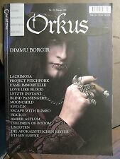 ORKUS 2001 # 2 - DIMMU BORGIR LACRIMOSA L'AME IMMORTELLE  LOVE LIKE BLOOD HOCICO