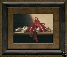 The Red Shoes by Deborah Bays Framed Print