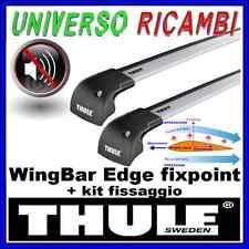 BARRE PORTATUTTO THULE WINGBAR EDGE PEUGEOT 508 SW 5-p 11>  con profili integrat