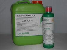 PHYTOGreen - PLANTOSOL - Blatt Dünger mit 9% org. Stickstoff - 500 ml Flasche