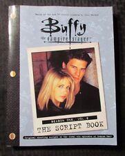 2000 BUFFY THE VAMPIRE SLAYER Script Book Season 1 Vol. 2 FN+ 6.5 1st Pocket PPB