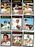 1971 Topps Baseball card *U-PICK* set builder lot (pick 10) EXMT - EXMT+ range
