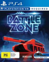 Sony Battlezone PlayStation 4 VR, PS4, PSVR Game Brand NEW Sealed Battle Zone