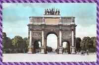 carte postale Paris l' arc de triomphe