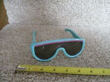 VINTAGE 1986 Fisher Price Sun Jammers Sunglasses KIDS Turquoise Blue glasses