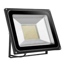 FOCO PROYECTOR LED SMD 100W -ESPAÑA-Exterior Focos Lámpara  Pared -LUZ CALIDA-