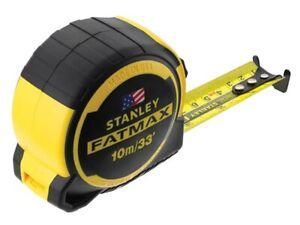Stanley FatMax Next Generation Measuring Tape 10m/33ft (Width 32mm) STA036336