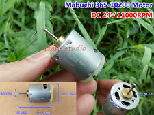 Mabuchi RS-365SA-10200 DC 24V 11000RPM Home Appliance Electric Micro DC Motor