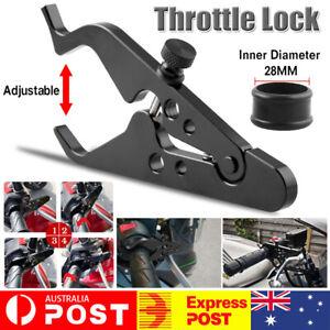 Motorcycle Cruise Control CNC Throttle Lock Assist Retainer Grip Aluminum AU OZ