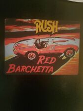 Rush Red Barchetta Magnet Neil Peart Rare $2.112 donated in Neil's name each one