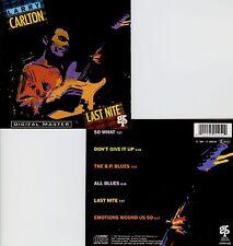 LARRY CARLTON  last nite