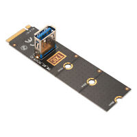NGFF M.2 To USB 3.0 Port PCI-E 16x Riser Extender Card Adapter Converter AC915