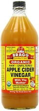 4 Bragg Organic Raw Apple Cider Vinegar 32 fl oz