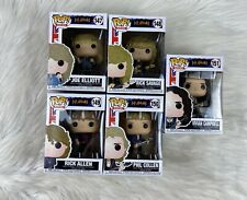 Funko Pop!  Def Leppard Set of 5 - Joe, Rick, Vivian, Rick, Phil New in Box