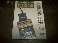 PSION ORGANISER II COMMS LINK MANUAL FOR RS232 (O5)