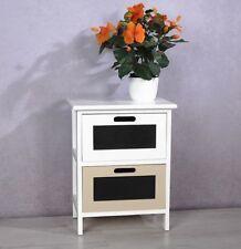 Vintage/Retro Solid Wood 45cm-50cm Bedside Tables & Cabinets