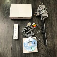 Nintendo Wii White Console + Controller + Sensor Bar + Game