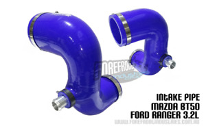 Ranger Bt50 3.2L silicone Intake pipe upgrade (airbox to turbo) PX 2012+   BLUE