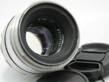 US Verkäufer Helios 44 58mm f2 SLR Silber Bokeh Portrait Objektiv M42 Halterung
