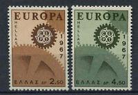 Greece 1967 SG#1050-1 Europa MNH Set #A71906