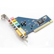 3D PCI 5.1 Surround Carte Son Audio MIDI Numérique Stéréo Jeu Port 64 Bit PC HG