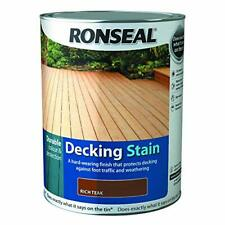 Ronseal Decking macchia ricca TEAK 5L