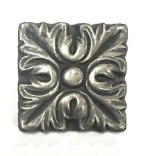 Silver Metallic 2x2 Resin Decorative insert Tile Accessory Backsplash Wall Bath