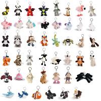 NICI Schlüsselanhänger Bean Bags Plüsch Tiger Shaun Einhorn Unicorn key chain