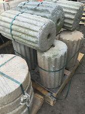 Japanese garden granite Antique stone roller Millstone fountain