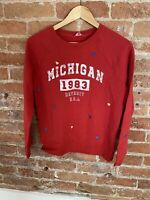 NEXT WOMENS RED 'MICHIGAN' SWEATER SIZE: S BNWT RRP £26