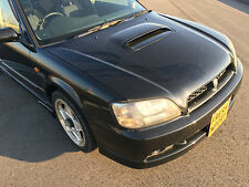 subaru legacy b4 be5 bh5 twin turbo black breaking for parts wheel nuts m51