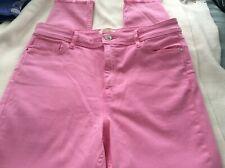 Ladies skinny pink jeans