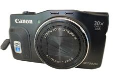 Canon PowerShot SX700 HS 16.1MP Digital Camera - Black