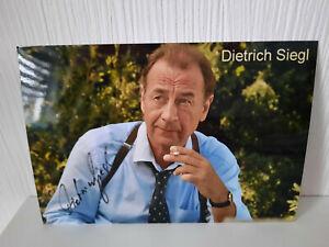 Dietrich Siegl   Autogramm orginal handsigniert Rarität ( 1 )